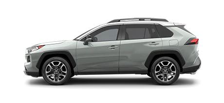 2021 Toyota Rav4 Adventure Model Cut-Out