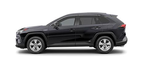 2021 Toyota Rav4 LE Hybrid Model Cut-Out
