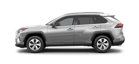 2021 Toyota Rav4 LE Model Cut-Out