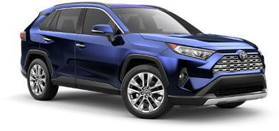2021 Toyota Rav4 Limited Model Cut-Out