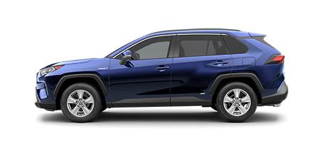2021 Toyota Rav4 XLE Hybrid Model Cut-Out