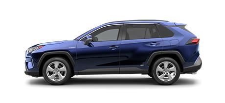 2021 Toyota Rav4 XLE Premium Hybrid Model Cut-Out