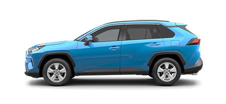 2021 Toyota Rav4 XLE Model Cut-Out