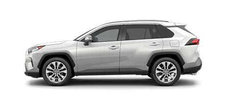 2021 Toyota Rav4 XLE Premium Model Cut-Out