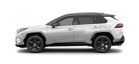 2021 Toyota Rav4 XSE Hybrid Model Cut-Out