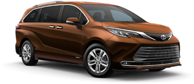 2021 Toyota Sienna Limited Model Cut-Out