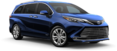 2021 Toyota Sienna Platinum Model Cut-Out