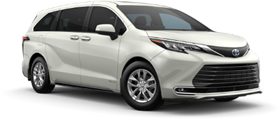 2021 Toyota Sienna XLE Model Cut-Out