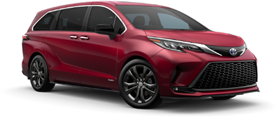 2021 Toyota Sienna XSE Model Cut-Out