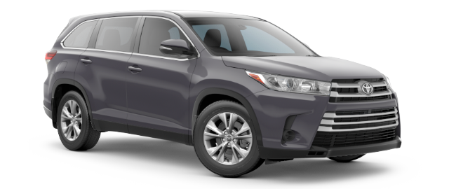 2019 Toyota HIGHLANDER LE shown