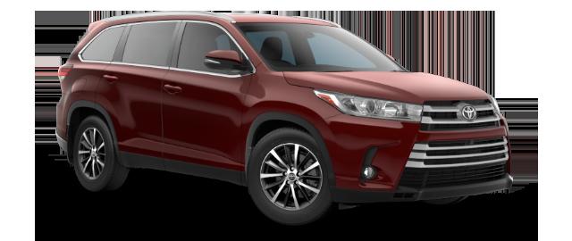 2019 Toyota Highlander XLE shown