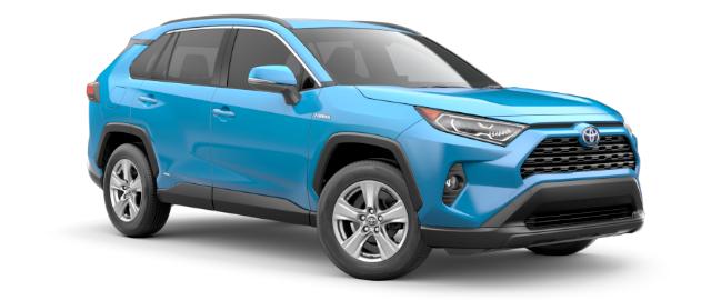 2019 Toyota RAV4 Hybrid XLE shown