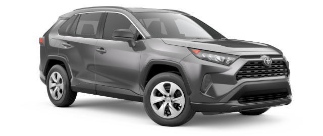 2019 Toyota RAV4 LE AWD -- shown