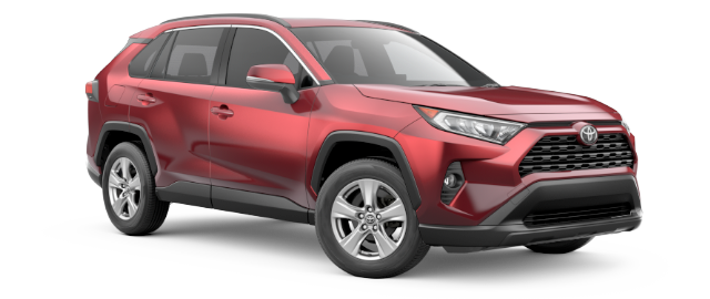 2019 Toyota RAV4 XLE shown