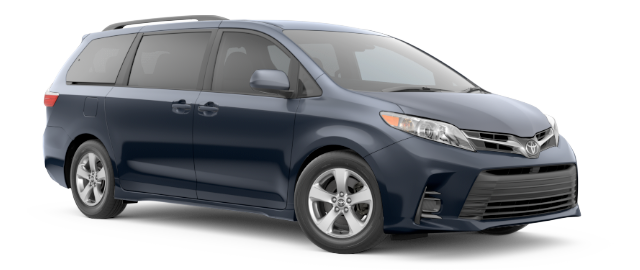 2019 Toyota Sienna LE shown