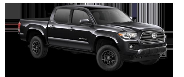 2019 Toyota Tacoma SR5 DoubleCab 4x4 shown