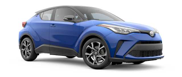2020 Toyota C-HR XLE -- shown