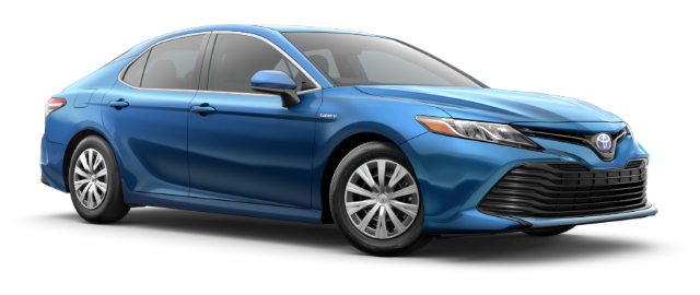 2020 Toyota Camry Hybrid LE shown