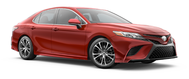 2020 Toyota Camry SE shown