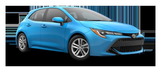 2020 Toyota Hatchback - Vehicle Cutout