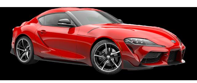 2020 Toyota GR Supra - Vehicle Cutout