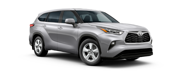 2020 Toyota Highlander - Vehicle Cutout