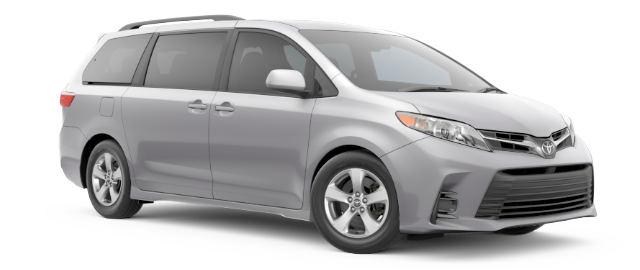 2020 Toyota Sienna LE shown