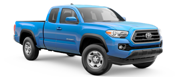 2020 Toyota Tacoma - Vehicle Cutout