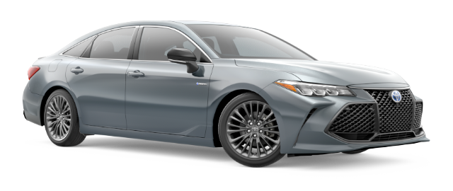 2021 Toyota Avalon Hybrid Model Cut-Out