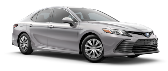 2021 Toyota Camry Hybrid Model Cut-Out