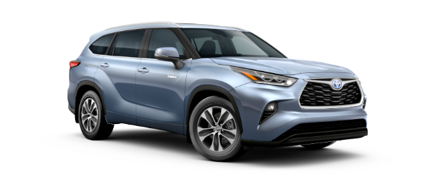 2021 Toyota Highlander Hybrid Model Cut-Out