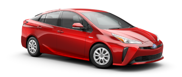 2021 Toyota Prius Model Cut-Out