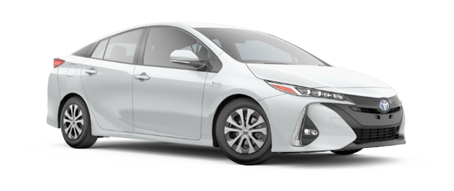 2021 Toyota Prius Prime Model Cut-Out