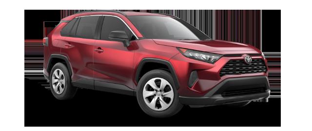 2021 Toyota Rav4 - Vehicle Cutout