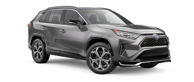 2021 Toyota RAV4 Prime Model Cut-Out