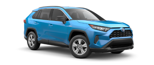 2021 Toyota RAV4 Hybrid Model Cut-Out
