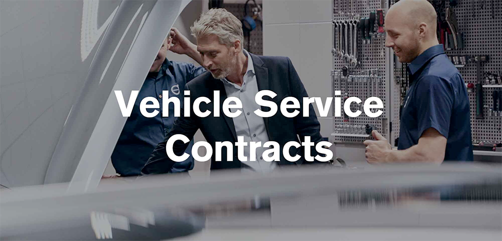 Volvo Vehicle Service Contracts