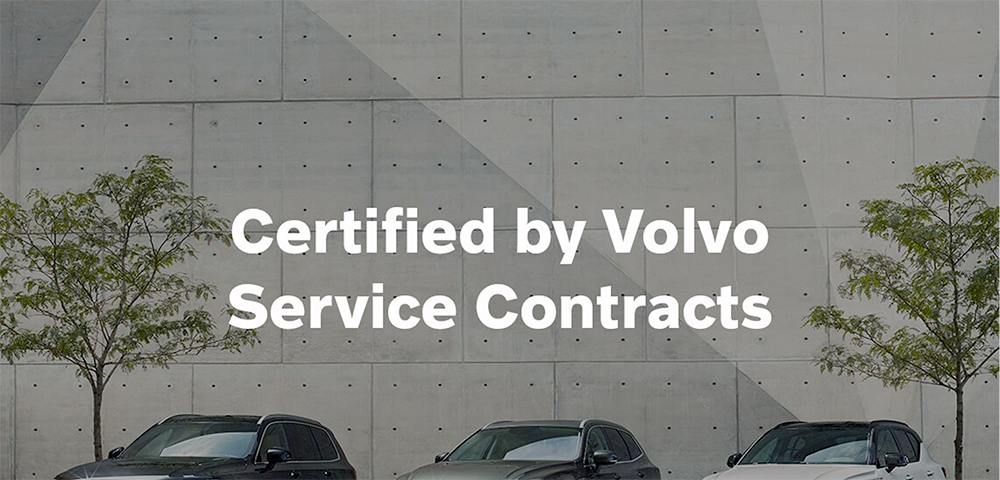 Volvo Certified by Volvo Service Contracts