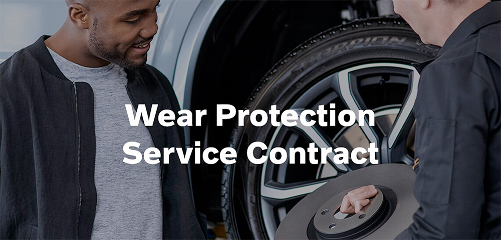 Volvo Wear Protection Service Contract