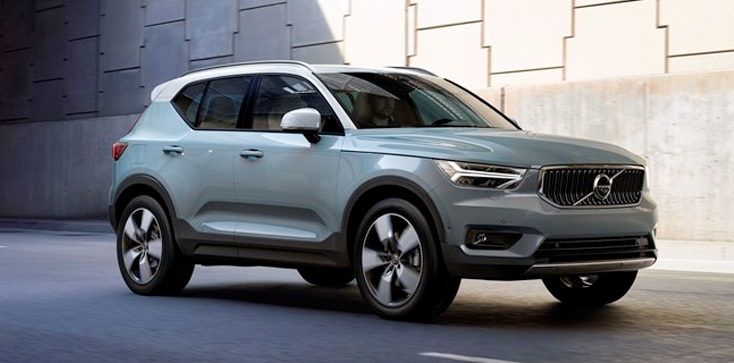 2020 Volvo XC40 Front Passenger Side