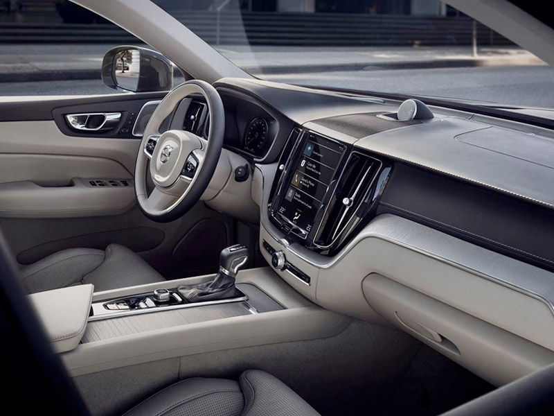 2020 Volvo XC60 - Interior View From Passenger Side