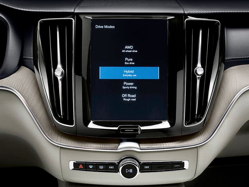 2020 Volvo XC60 - Drive Modes Selector Through Touchscreen Display