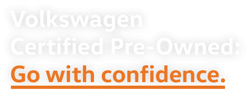 Volkswagen Certified Pre-Owned: Go With Confidence logo