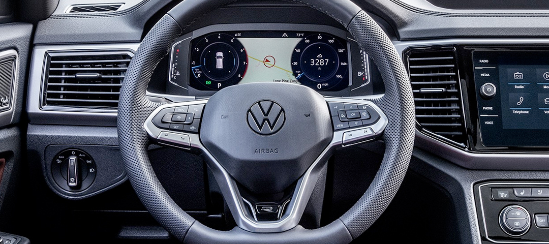 2020 Volkswagen Atlas Cross Sport - Volkswagen Digital Cockpit