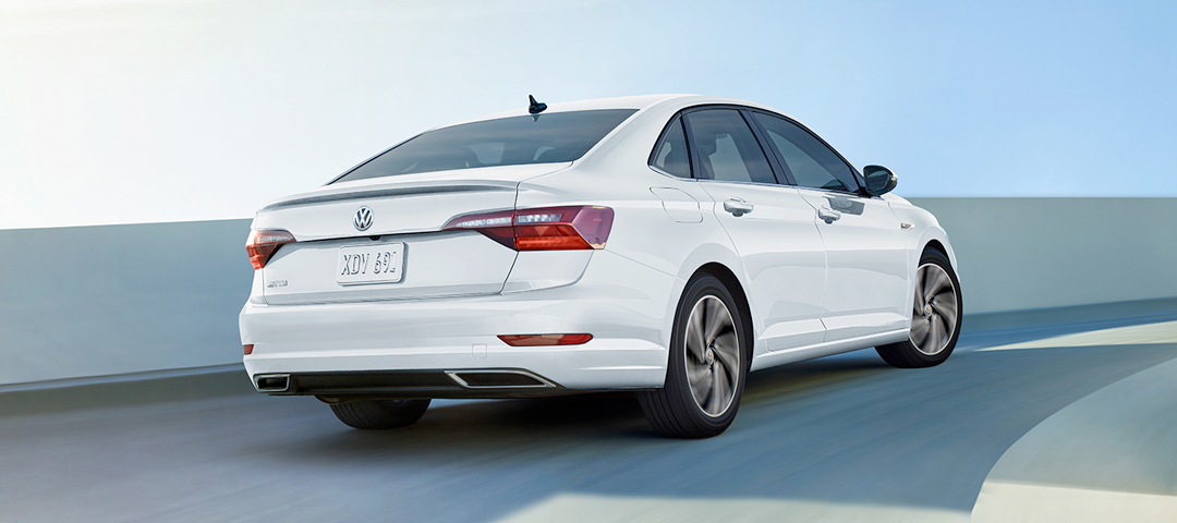 2020 VW Jetta Driving on the Highway