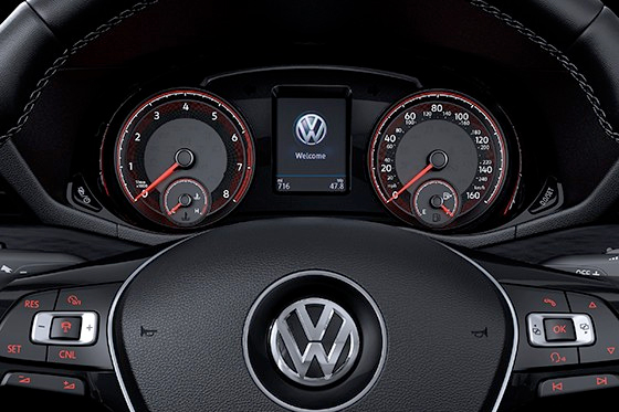 2020 VW Passat Dashboard Display
