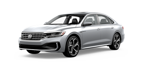 2020 VW Passat R-Line Model Cut-Out