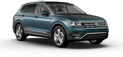 2020 VW Tiguan SEL Model Cut-Out
