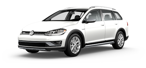 2019 Volkswagen Golf Alltrack S Shown