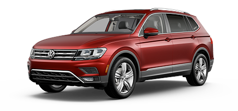 Shop VW Tiguan Models